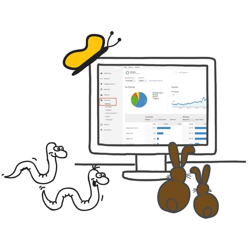 Mehr Besucher im Onlineshop blueCommerce
