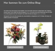 Onlineshop für Blumengalerie Knorr von bluecommerce in Baden-Baden.