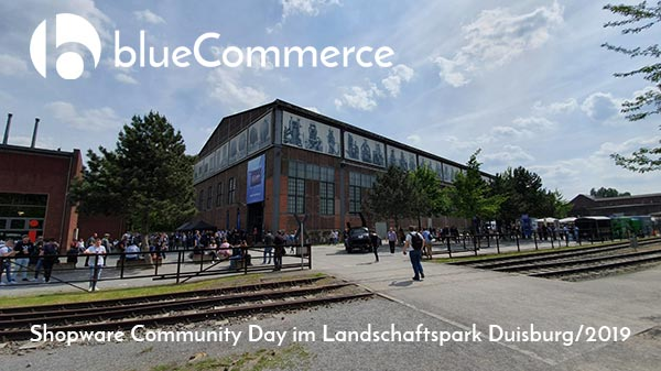 Shopware 6 Community Day Duisburg blueCommerce